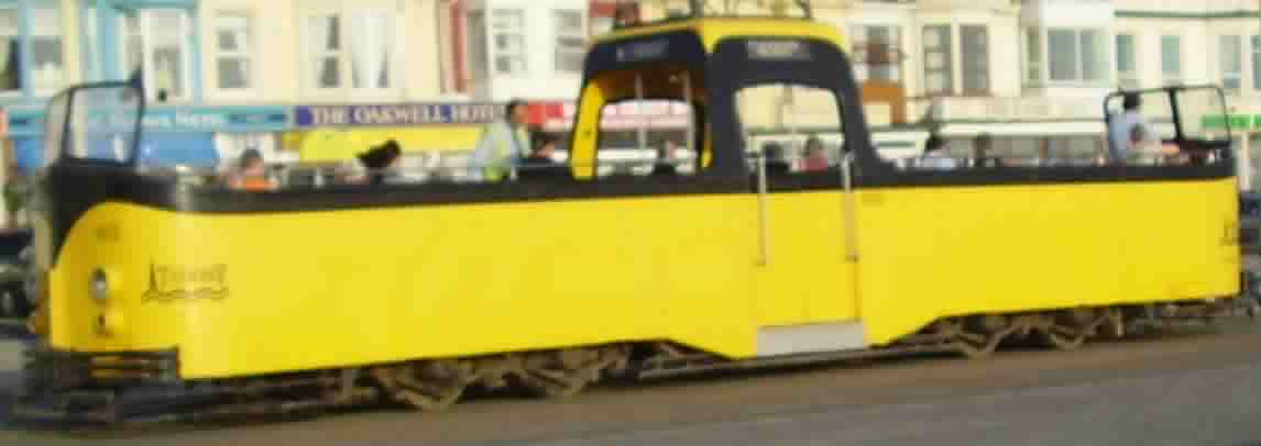 Blackpool Boat Trams